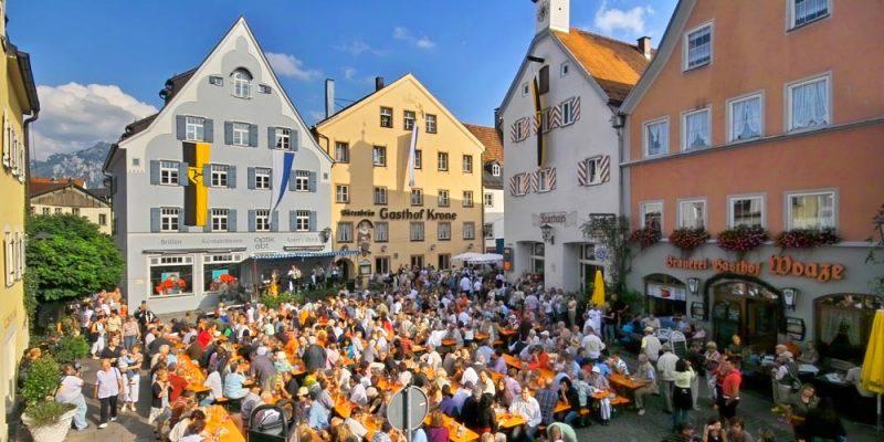 Schindaufest in Füssen