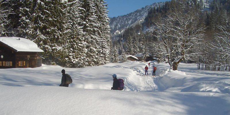Wintervergnügen in der Bleckenau
